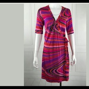 Super cute retro h&m wrap dress size 10